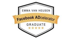 Emma van Heusen facebook ADcelerator logo